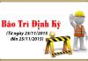 Thông báo bảo trì website cogioi.edu.vn từ ngày 23/11/2015 đến ngày 25/11/2015