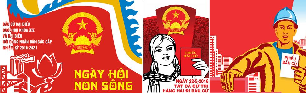 Banner Bau cu HDND Khoa 14 2016